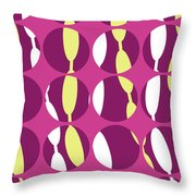 Swirly Stripe Throw Pillow