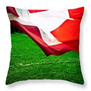 Swiss Flag Throw Pillow