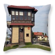 Switch Tower Throw Pillow