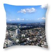 Sydney - Aerial View Panorama Throw Pillow