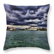 Sydney Symphony Throw Pillow