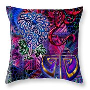 Symagery 12 Throw Pillow by Kenneth Armand Johnson