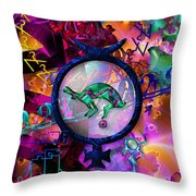 Symagery 23 Throw Pillow by Kenneth Armand Johnson