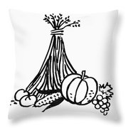 Symbol: Thanksgiving Throw Pillow