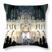 Synagogue Throw Pillow