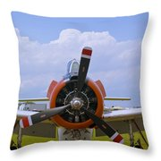 T-28 Nose Throw Pillow