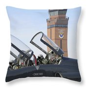 T-38 Talon Pilots Make Their Final Throw Pillow