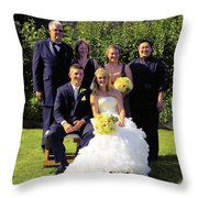 T And T 17 Throw Pillow