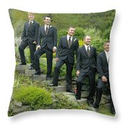 T And T 21 Throw Pillow