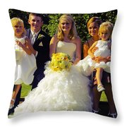 T And T 29 Throw Pillow