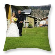 T And T 4 Throw Pillow
