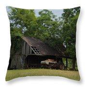 T Barn 3 Throw Pillow