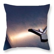 T Bird Emblem Throw Pillow