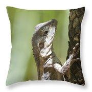 Ta-ta Lizard Throw Pillow