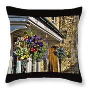 Table Manners Store -  Broadway England Throw Pillow