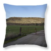 Table Rock Afternoon Throw Pillow