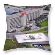 Table Top Channel 7 Throw Pillow