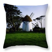 Tacumshane Windmill, Co Wexford, Ireland Throw Pillow