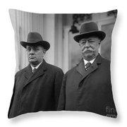 Taft & Butler, 1922 Throw Pillow