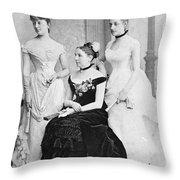 Taft Family, 1884 Throw Pillow