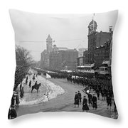 Taft Inauguration, 1909 Throw Pillow