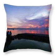 Tagbilaran Sunset Throw Pillow