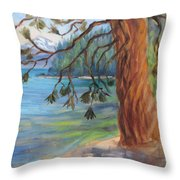 Tahoe Light Sugar Pine Point State Park Throw Pillow