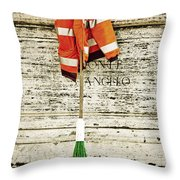 Take A Break Throw Pillow by Joana Kruse