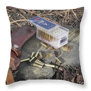 Take A Shot Throw Pillow