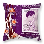 Take In The Sun Hang Out The Moon Throw Pillow
