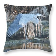 Taking A Stretch Throw Pillow