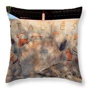 Taliesin Entry - Arizona Throw Pillow