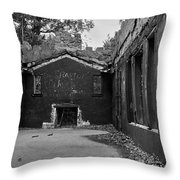 Talking Walls Throw Pillow
