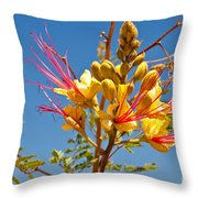 Tall And Bright Throw Pillow