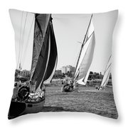Tall Ship Races 2 Throw Pillow