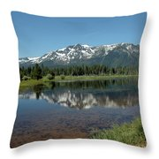 Tallac Reflections Throw Pillow