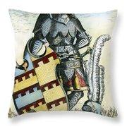 Tamerlane (1336?-1405) Throw Pillow
