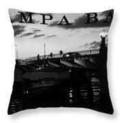 Tampa Bay Throw Pillow