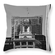 Tampa Courthouse 1905 Throw Pillow