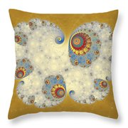 Tangent Logistic Throw Pillow