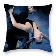 Tango Night  Throw Pillow