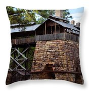 Tannehill Furnaces 2012 Throw Pillow