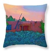Taos Casita II Throw Pillow