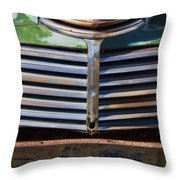 Taos Truck 1 Throw Pillow