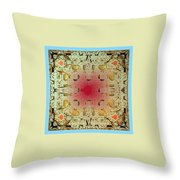 Tapestry Mandelbrot Throw Pillow