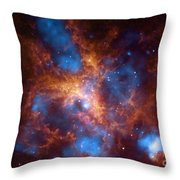Tarantula Nebula 30 Doradus Throw Pillow