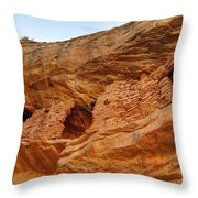 Target - Bulls Eye Anasazi Indian Ruins Throw Pillow