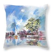 Tarn Et Garonne In France 01 Throw Pillow