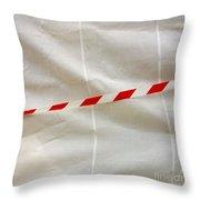 Tarpaulin Throw Pillow by Bernard Jaubert