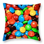 Tasting Color Throw Pillow